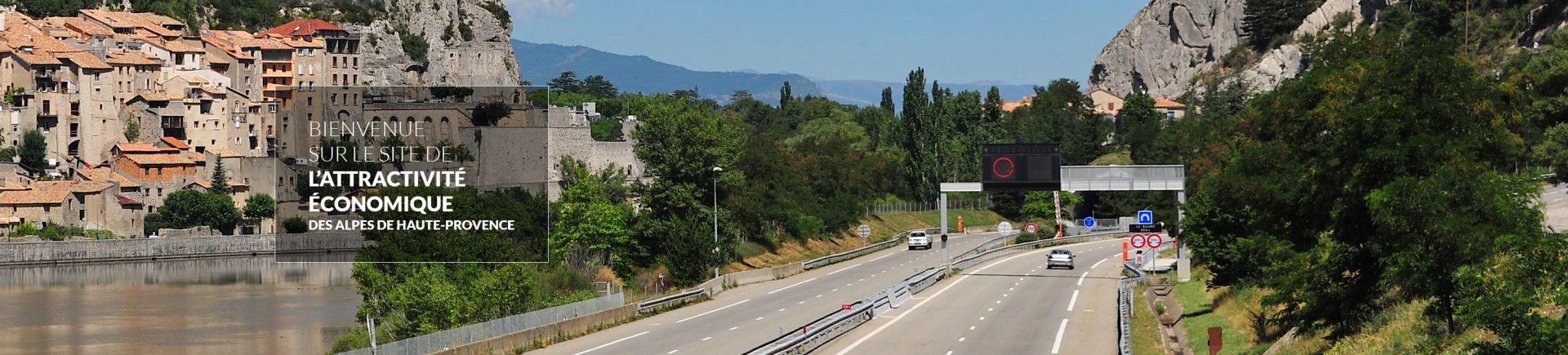 Sisteron dans les Alpes de Haute Provence