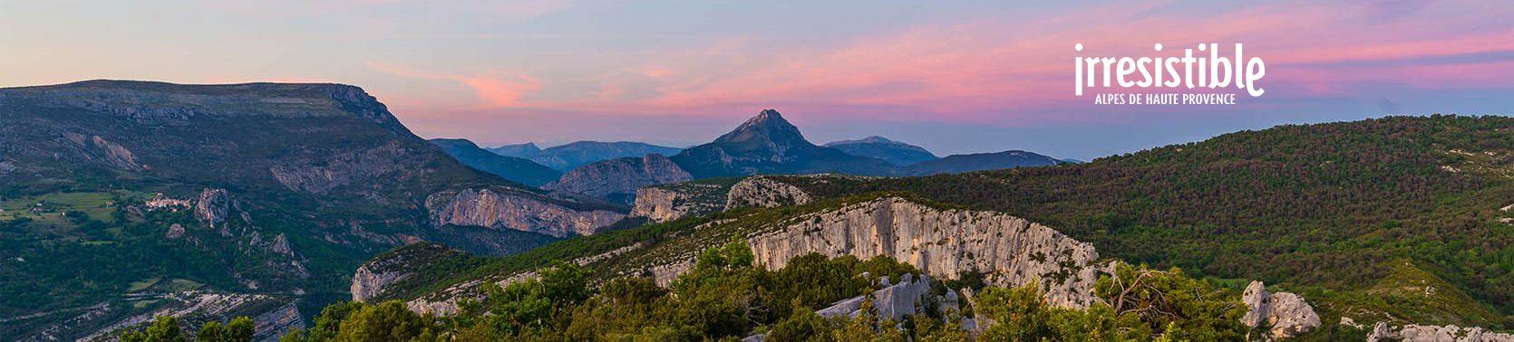 Verdon dans les Alpes de Haute Provence