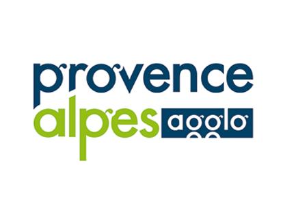 Logo Communauté d'agglomération Provence Alpes Agglomération
