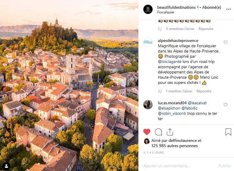 instagram Loïc Lagarde Forcalquier