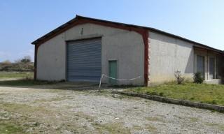 Vue coté ouest - A louer entrepôt à Sainte Tulle proche Manosque