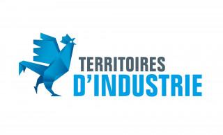 Logotype Territoires d'industrie - Territoire d'industrie Vallée de la Durance