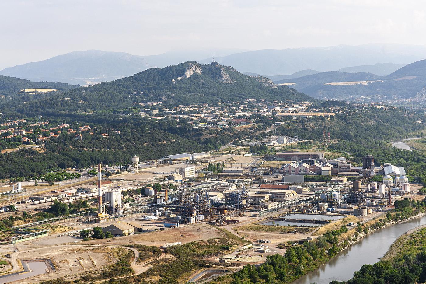 Territoire d'industrie sur le site d'Arkema  vallée de la Durance ©Thibaut VERGOZ