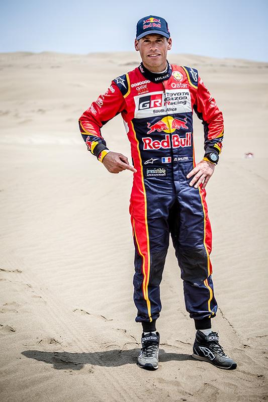 Mathieu Baumel copilote professionnel