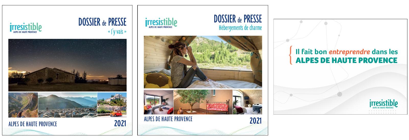 dossiers de presse irresistible Alpes de Haute Provence 2021