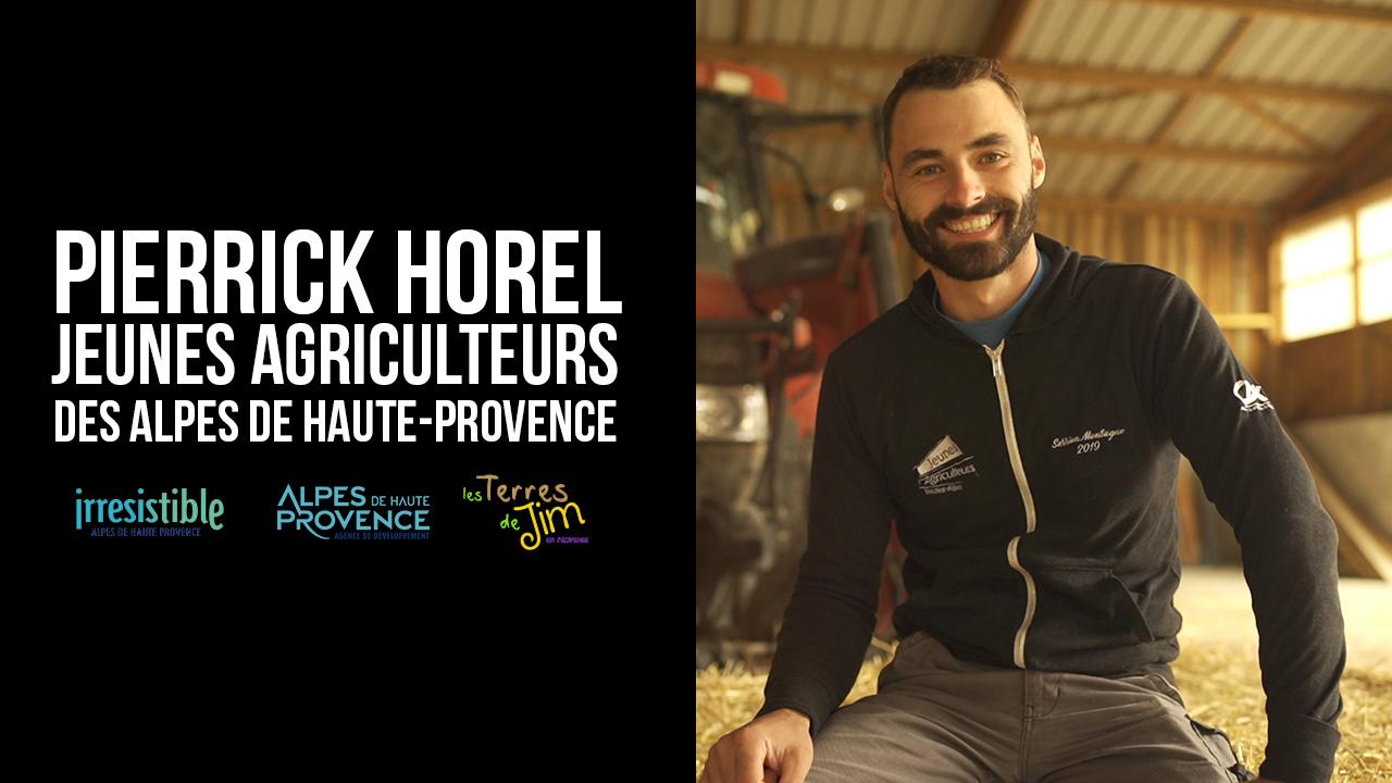 Portrait d'agriculteur - Pierrick