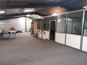 A vendre local d'activité avec maison sur Volx