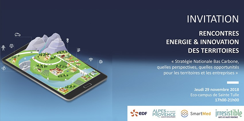 Rencontres Energie & Innovation des territoires 2018