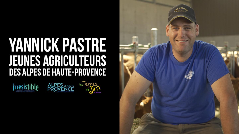 Portrait d'agriculteur - Yannick