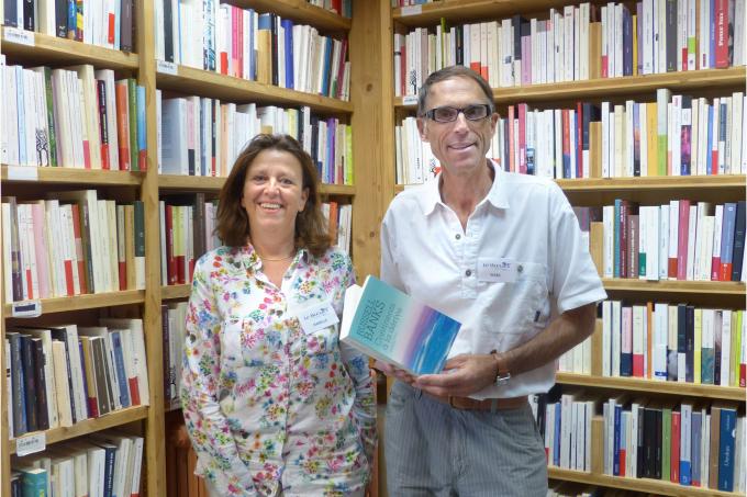 Isabelle GAUCHERAND, Directrice de la Librairie Le Bleuet, Banon