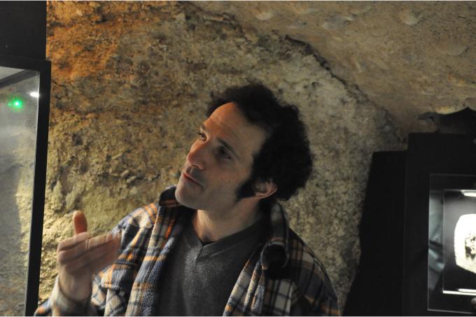 Luc EBBO, Directeur de la Paléogalerie, Salignac
