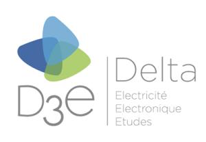 logo DELTA ELECTRICITE ELECTRONIQUE ETUDES (D3E)
