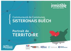 portrait de territoire Communauté de communes du Sisteronais-Buëch