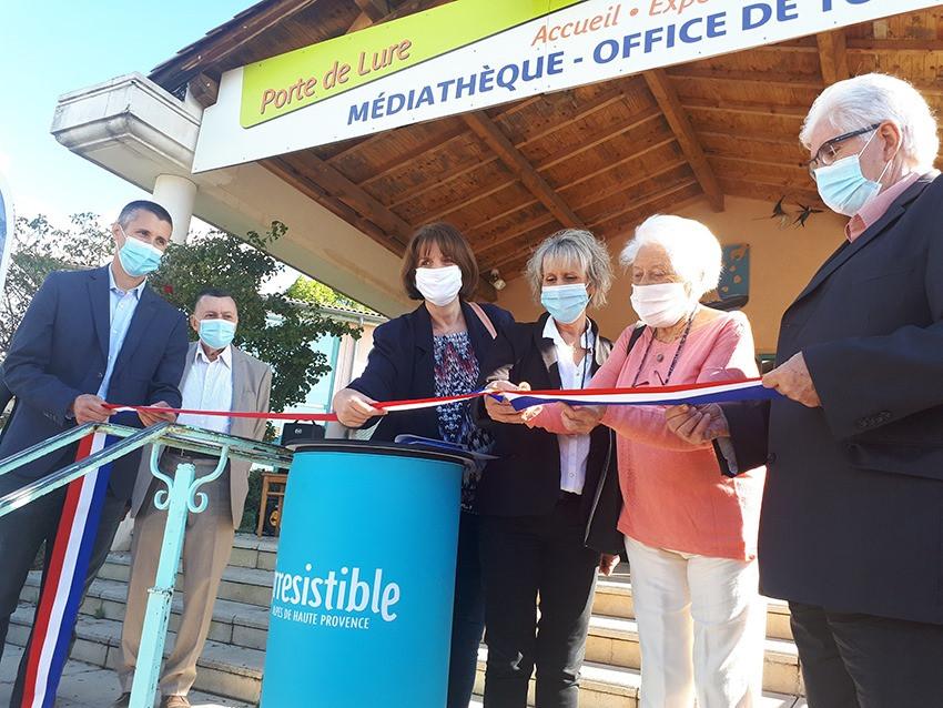 Inauguration de la Route Jean Giono