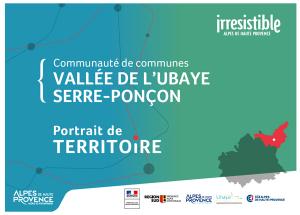 portrait de territoire Communauté de communes de la Vallée de l'Ubaye Serre-Ponçon