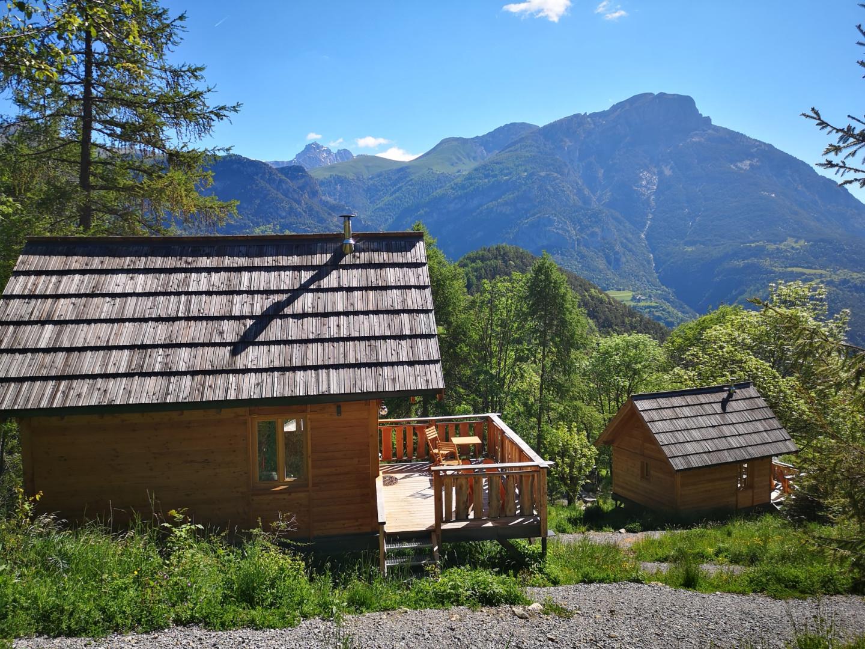 Cabanes du Domaine de l'Esperluette