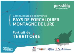 portrait de territoire de la Communauté de communes Pays de Forcalquier-Montagne de Lure