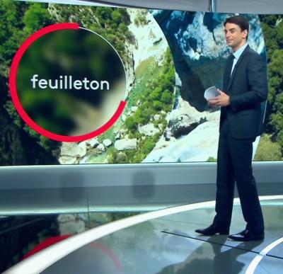 Les Gorges du Verdon en hiver au JT de 13h sur France 2