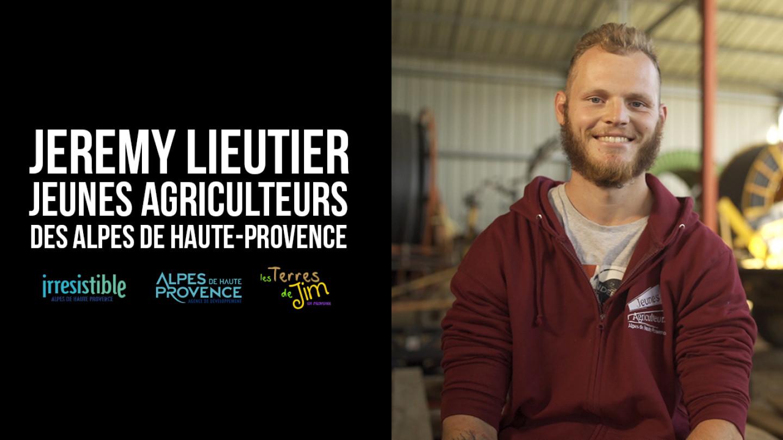 Portrait d'agriculteur - Jérémy