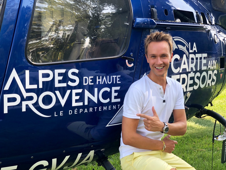 Tournage de La Carte aux Trésors dans les Alpes de Haute Provence