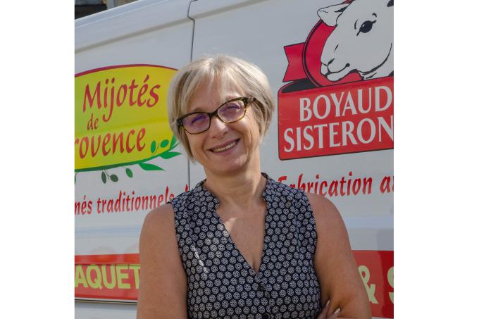 Agnès PUT, Gérante de la Boyauderie, Sisteron