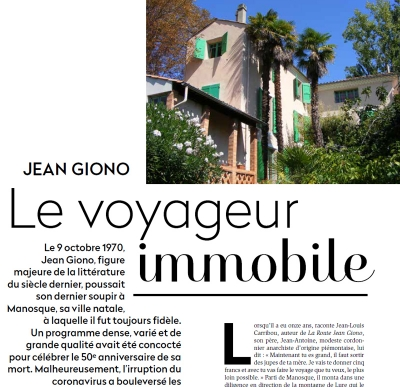 Revue Office culture sur Jean Giono