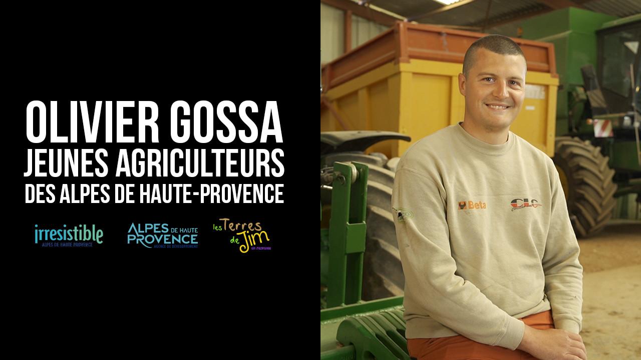 Portrait d'agriculteur - Olivier