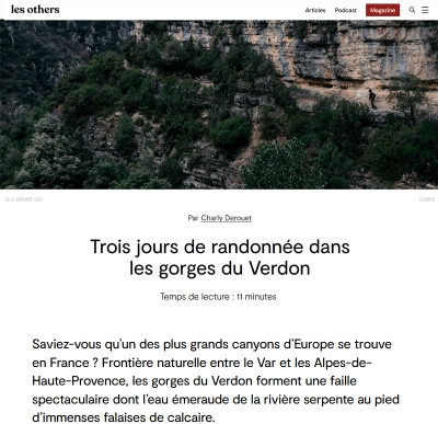 Les Others article Verdon