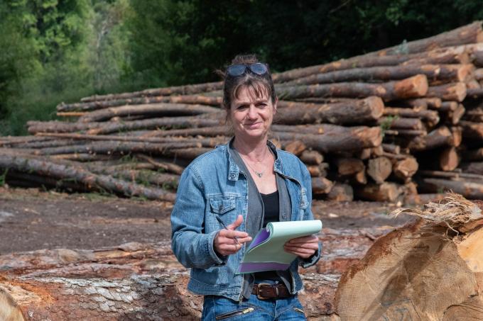 CC APV Mme BRUEL, Directrice Associée, Scierie Le Mélézin, Villars-Colmars