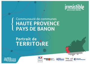 portrait de territoire de la Communauté de communes de Haute Provence Pays de Banon