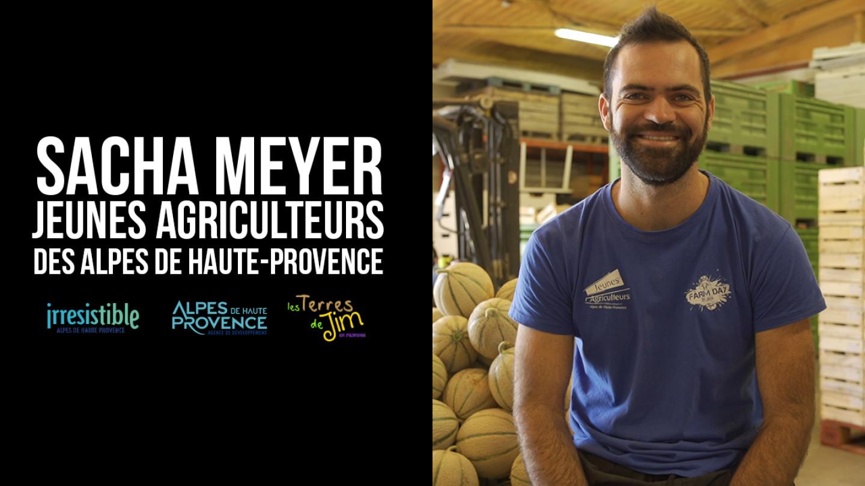 Portrait d'agriculteur - Sacha